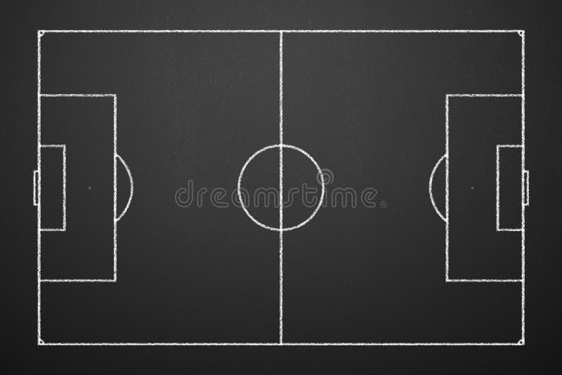 Táticas do futebol imagens de stock