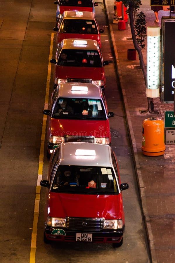Táxi de Hong Kong imagens de stock royalty free