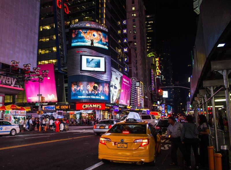 Táxi em NYC imagens de stock
