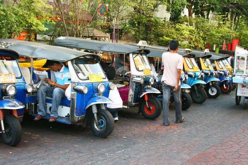 Táxi tailandês de Tuk Tuk, Tailândia. imagens de stock royalty free