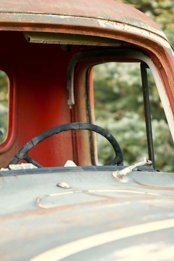 Táxi velho do caminhão imagem de stock royalty free