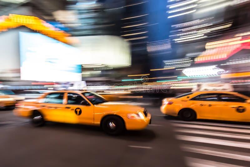 Táxis amarelos imagem de stock royalty free