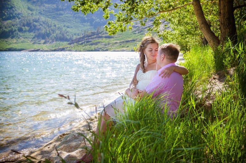 Tâmara romântica fotos de stock