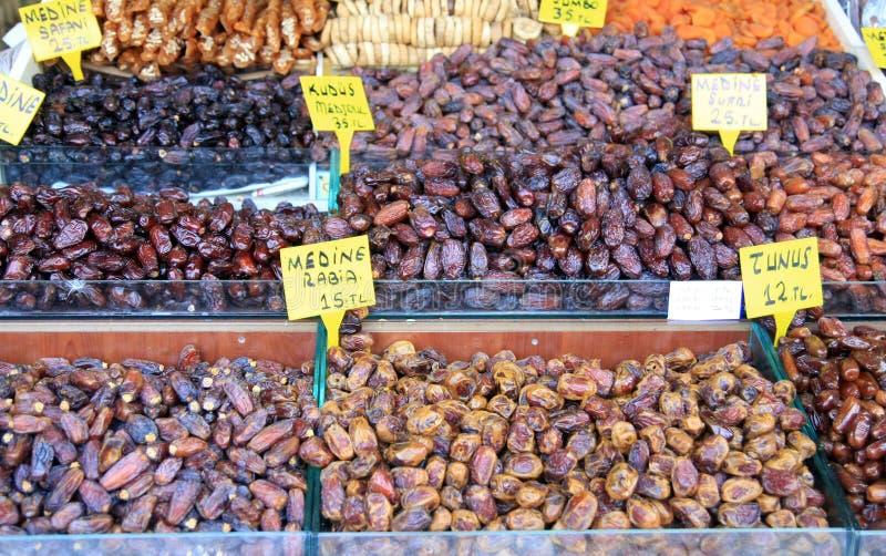 Tâmara: Sobremesa de Ramadan imagens de stock royalty free