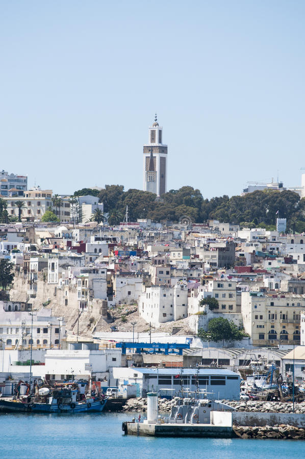 Tânger, Tânger, Tanger, Marrocos, África, Norte de África, costa de Maghreb, estreito de Gibraltar, mar Mediterrâneo, Oceano Atlâ fotos de stock