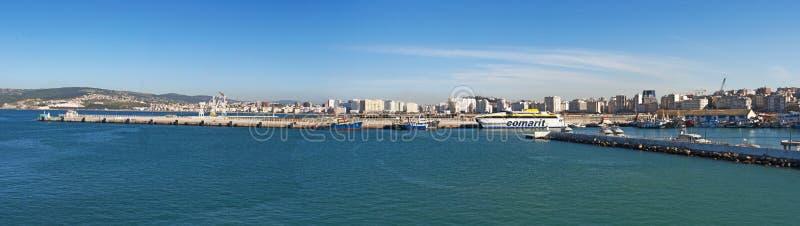 Tânger, Tânger, Tanger, Marrocos, África, Norte de África, costa de Maghreb, estreito de Gibraltar, mar Mediterrâneo, Oceano Atlâ imagem de stock royalty free