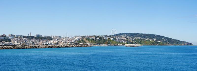 Tânger, Tânger, Tanger, Marrocos, África, Norte de África, costa de Maghreb, estreito de Gibraltar, mar Mediterrâneo, Oceano Atlâ fotografia de stock royalty free