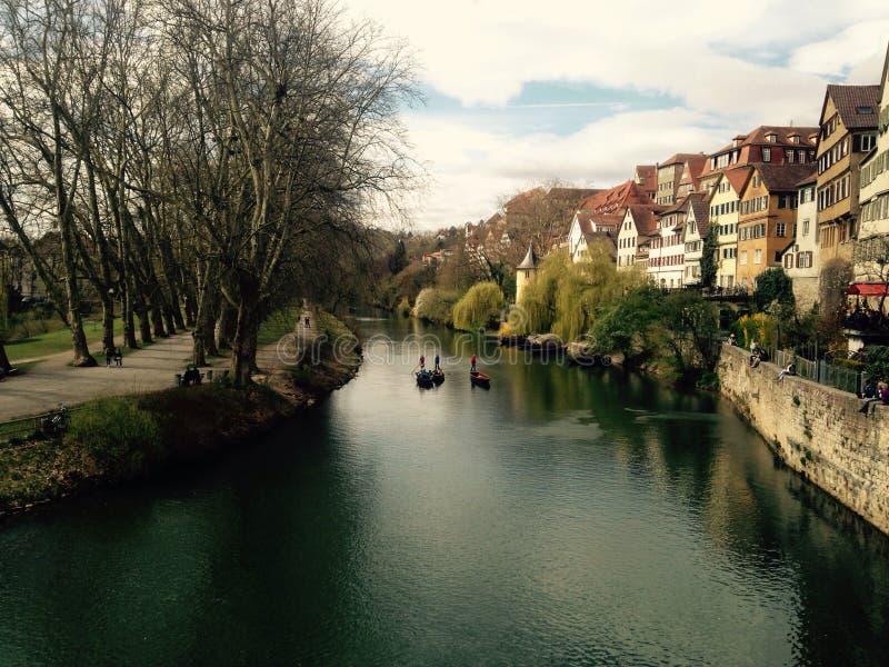 TÃ-¼bingen, Tyskland arkivfoton