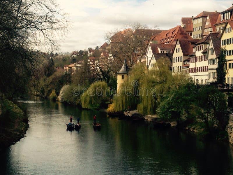 TÃ-¼bingen, Tyskland arkivbilder