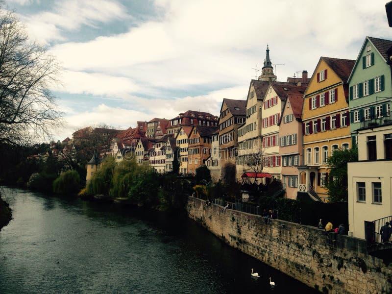 TÃ-¼bingen, Tyskland fotografering för bildbyråer