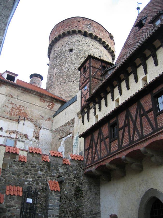 TÃ-¡ bor - Tjeckien royaltyfri bild