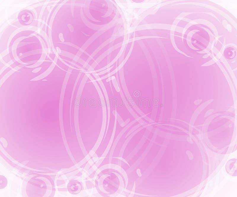 täckande pink för artsy bakgrund vektor illustrationer