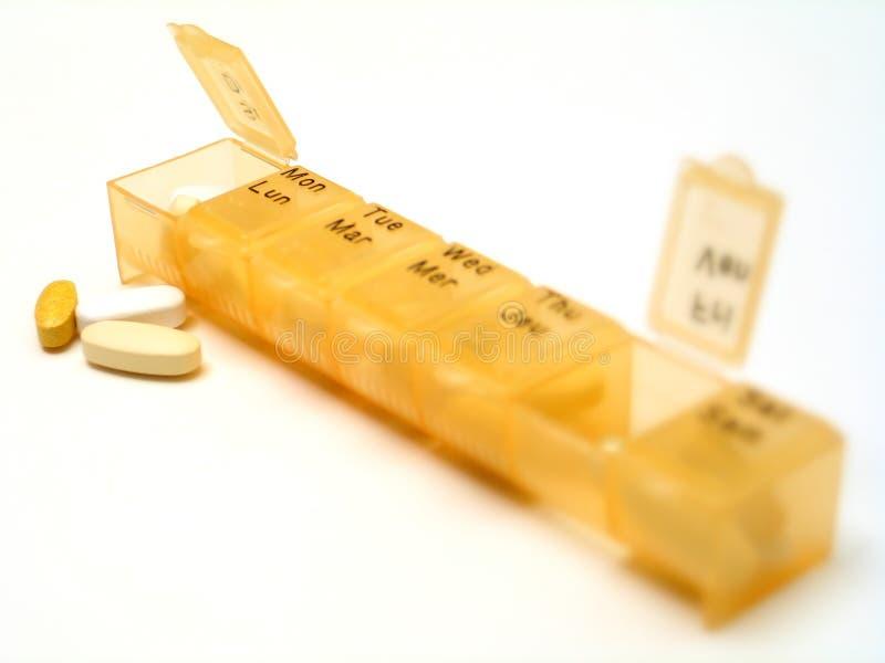 Tägliche Pillen 4 lizenzfreies stockfoto