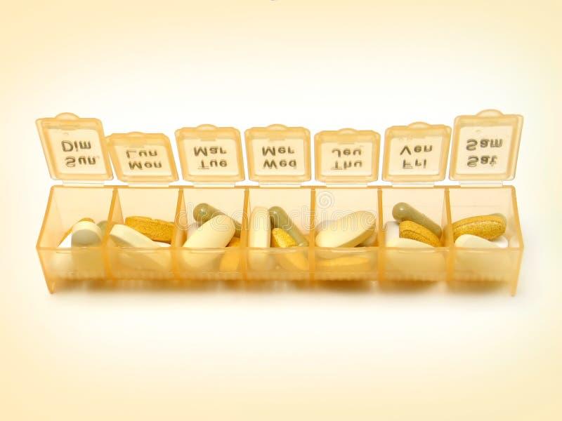 Tägliche Pillen 5 lizenzfreie stockfotografie