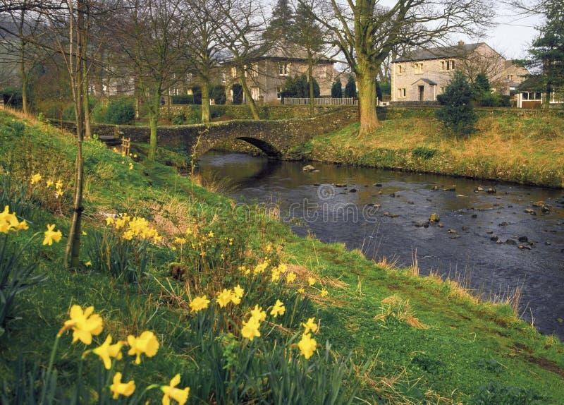Täler England-Yorkshire lizenzfreie stockfotos