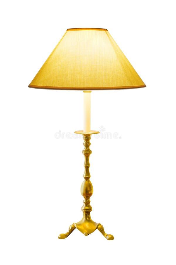 Tända den hem- lampan arkivfoto