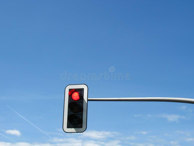 tänder röd trafik fotografering för bildbyråer