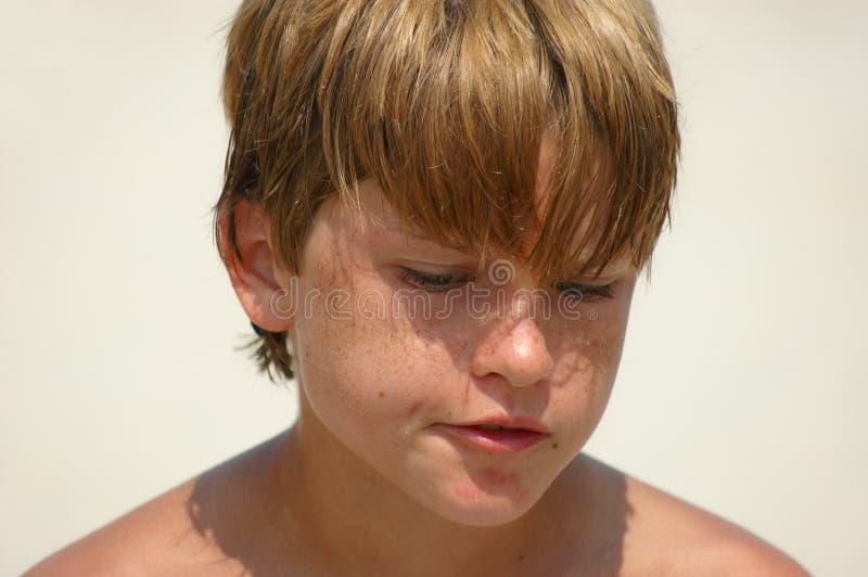 tänka för pojke arkivfoton
