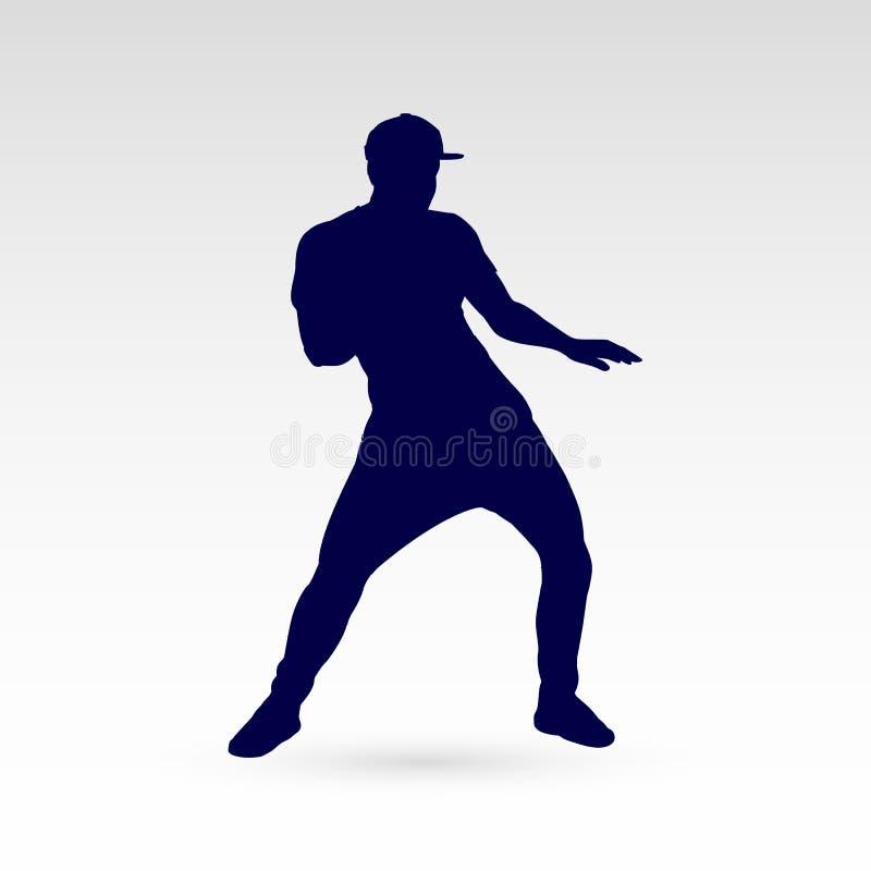 Tänzer stock abbildung