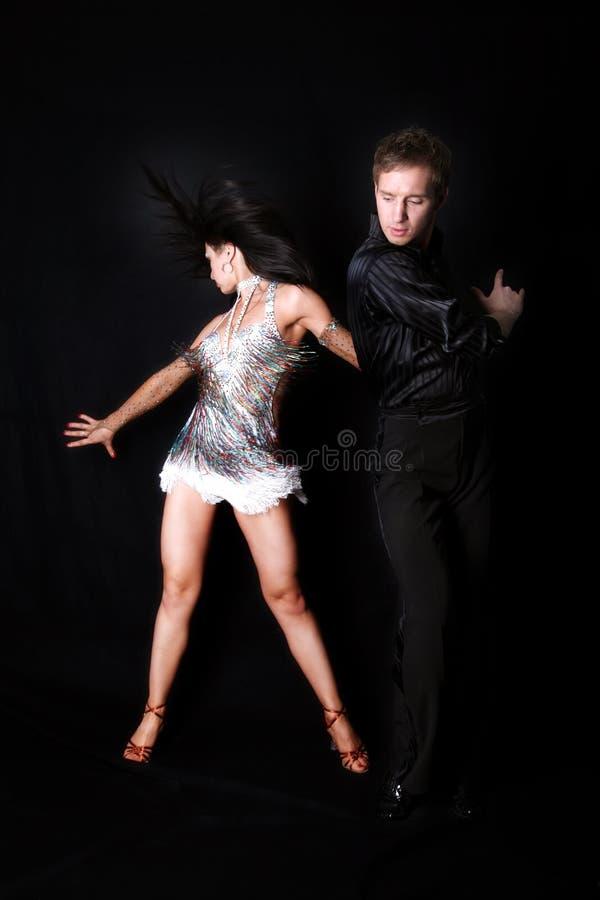 Tänzer in der Tätigkeit lizenzfreie stockbilder