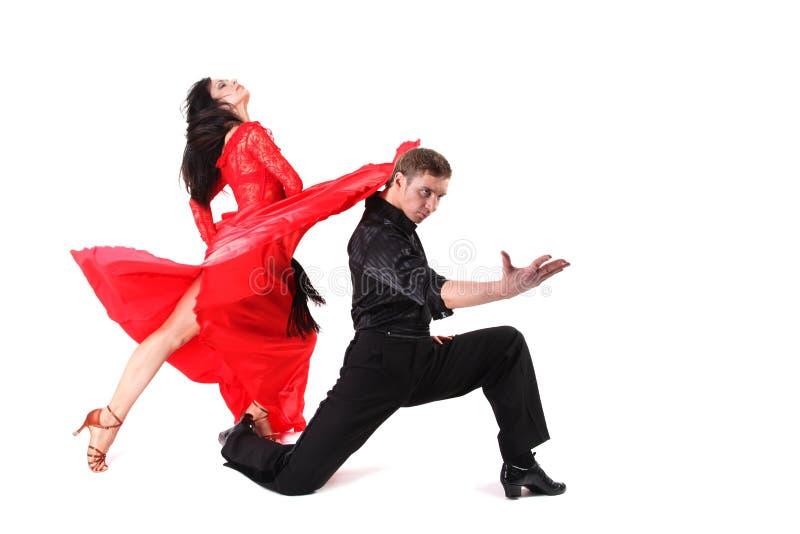 Tänzer in der Tätigkeit lizenzfreie stockfotos