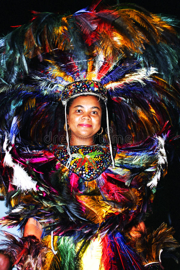 Tänzer des brasilianischen Volkstanzes lizenzfreie stockbilder