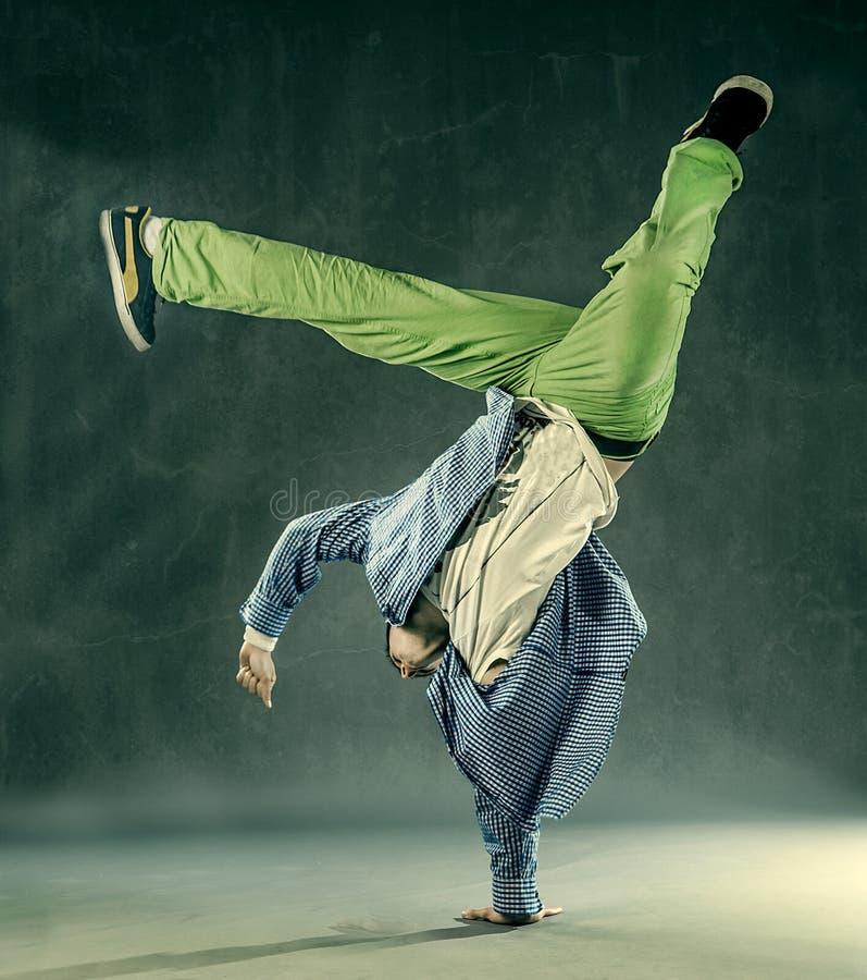 Tänzer - Leistung-Frost stockfoto