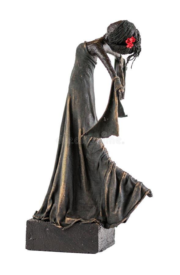 Tänzer Statue stockbild