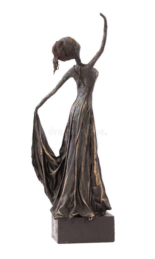 Tänzer Statue stockfotografie