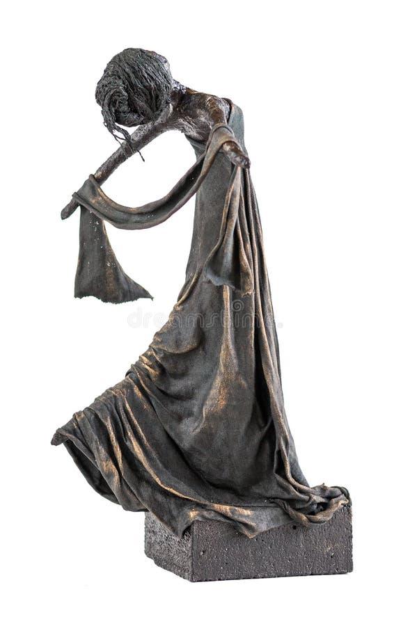 Tänzer Statue lizenzfreies stockfoto