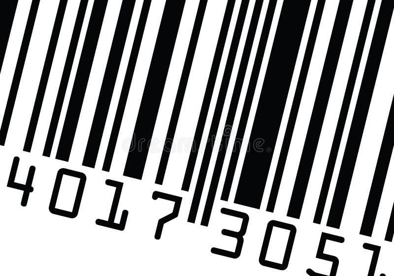 tät övre vektor för barcode