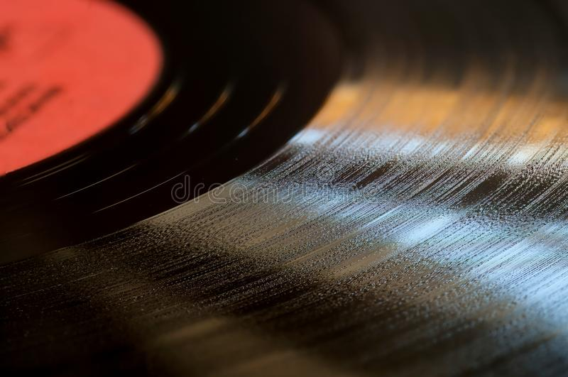 tät diskett för bakgrund upp vinyl royaltyfri fotografi