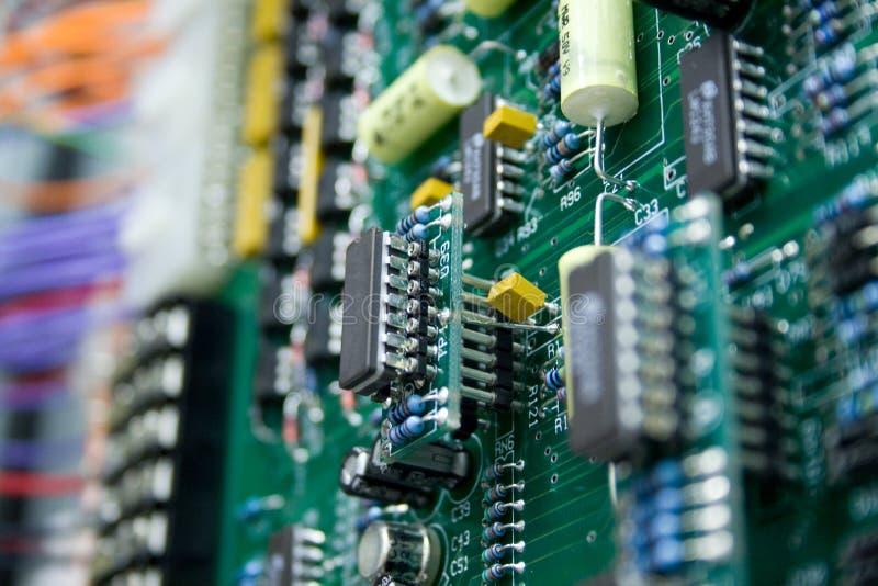 tät elektronik royaltyfri foto