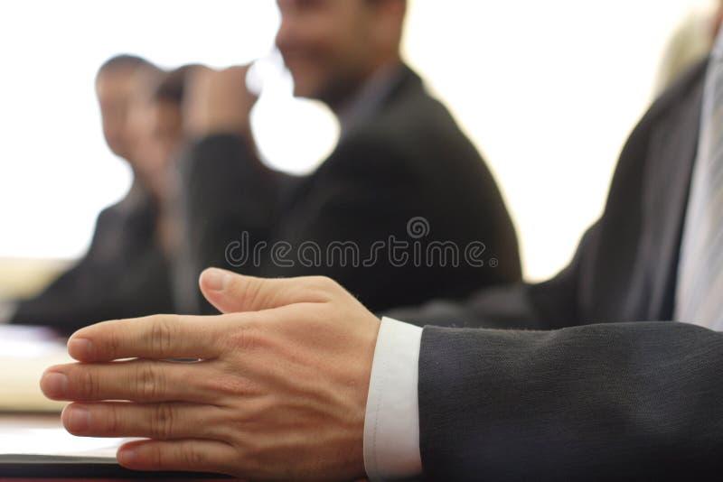 tät hand för affär upp royaltyfria foton