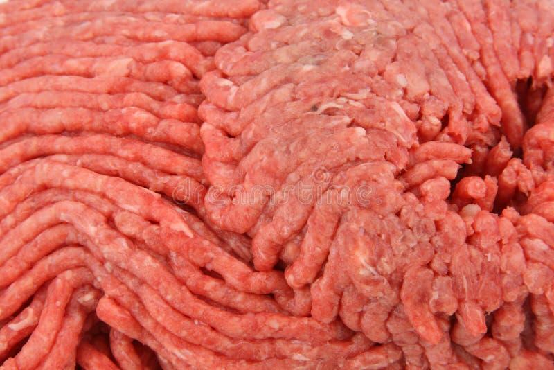 tät jordningssikt för nötkött royaltyfria foton