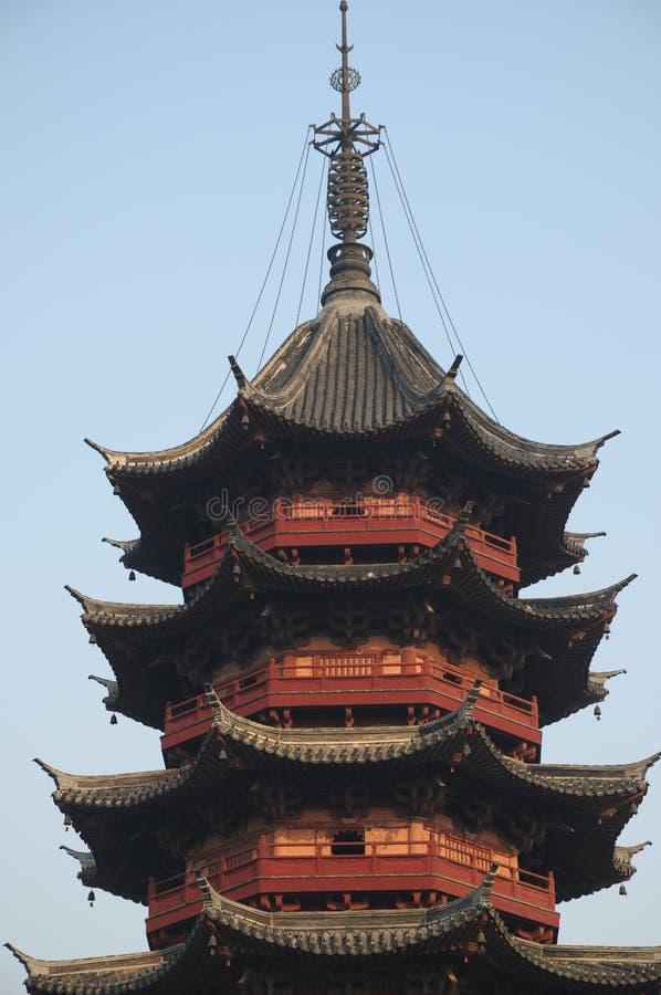 Tät pagoda upp