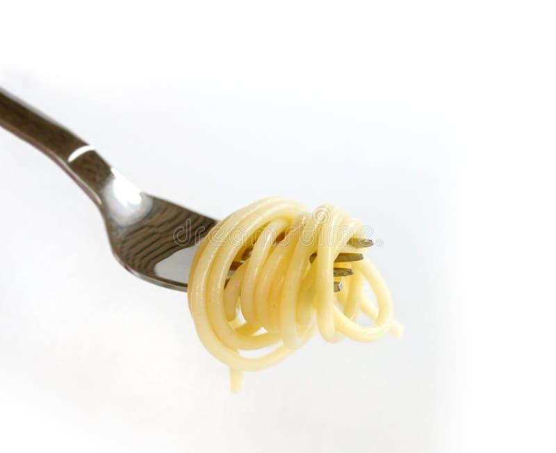 tät pasta upp arkivfoto