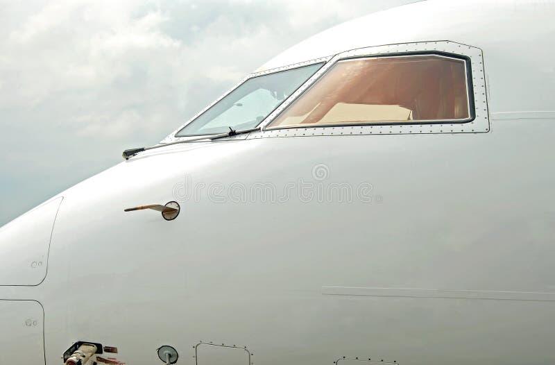 tät strålpassagerare för flygplan upp sikt royaltyfri fotografi