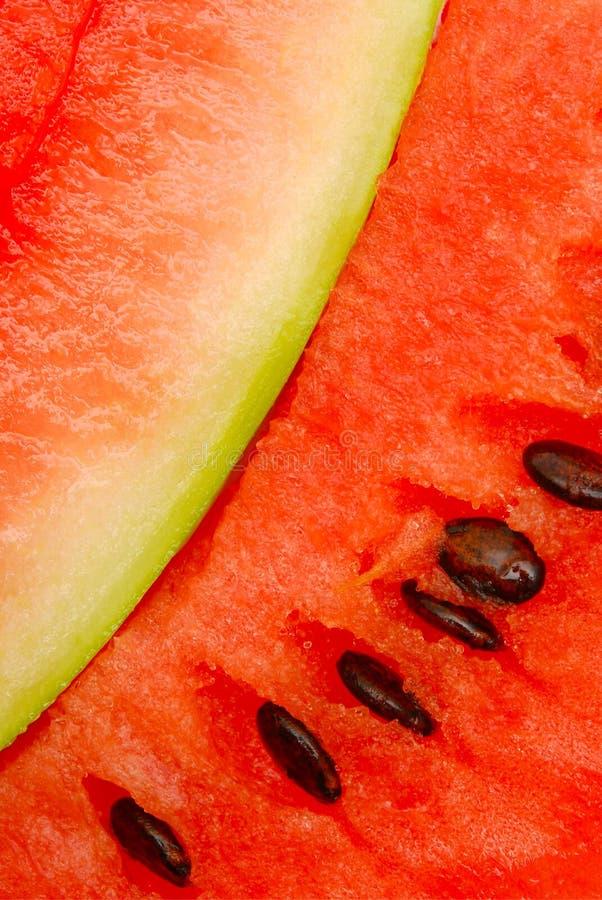täta skivor up vattenmelonen arkivfoto