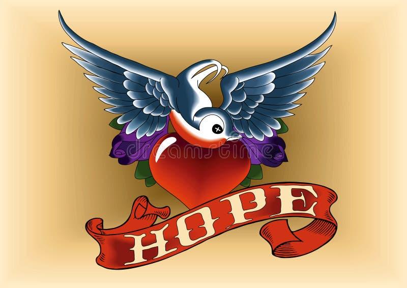 Tätowierung-Robin-Hoffnung