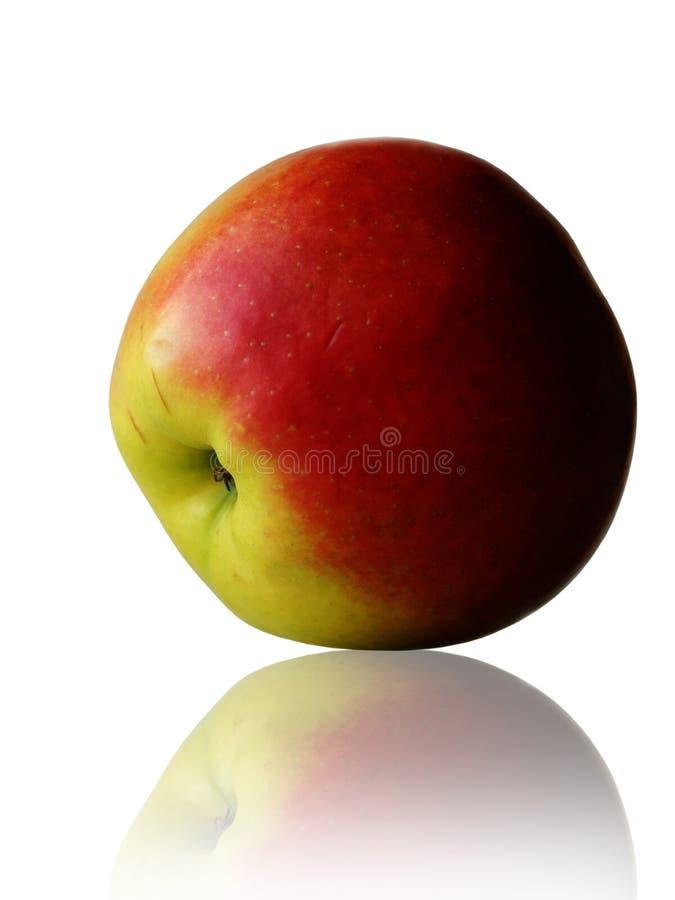 tätt övre för äpple arkivbilder