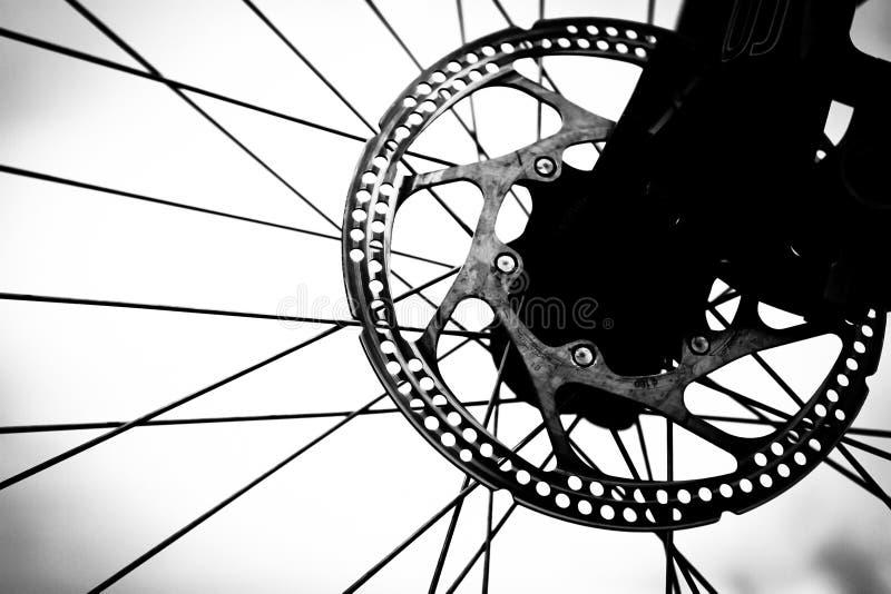 tätt övre hjul för cykel royaltyfri bild