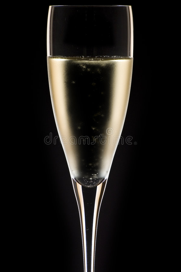 tätt exponeringsglas för champagne upp royaltyfria foton
