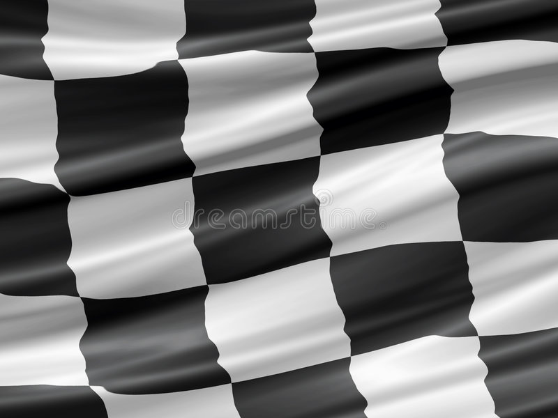 tävlings- flagga stock illustrationer