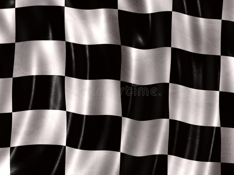 tävlings- flagga royaltyfri foto