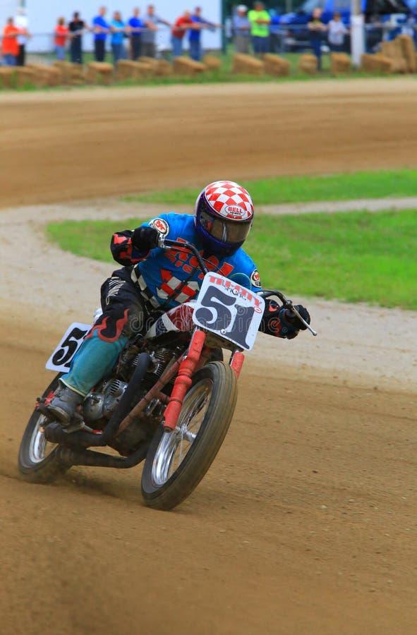 Tävlings- händelse för pro-motorisk cykel arkivfoton