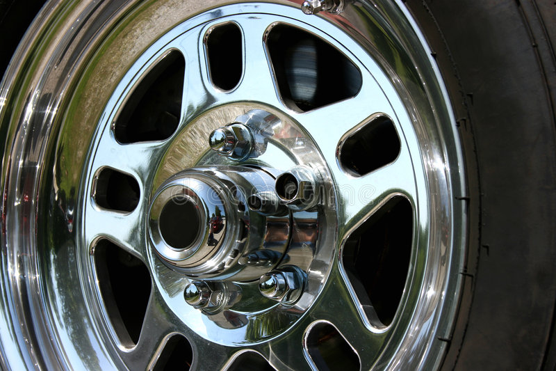 tävlings- hjul royaltyfri foto