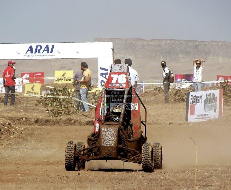 Tävlings- medel i den bilRacing händelsen royaltyfri foto