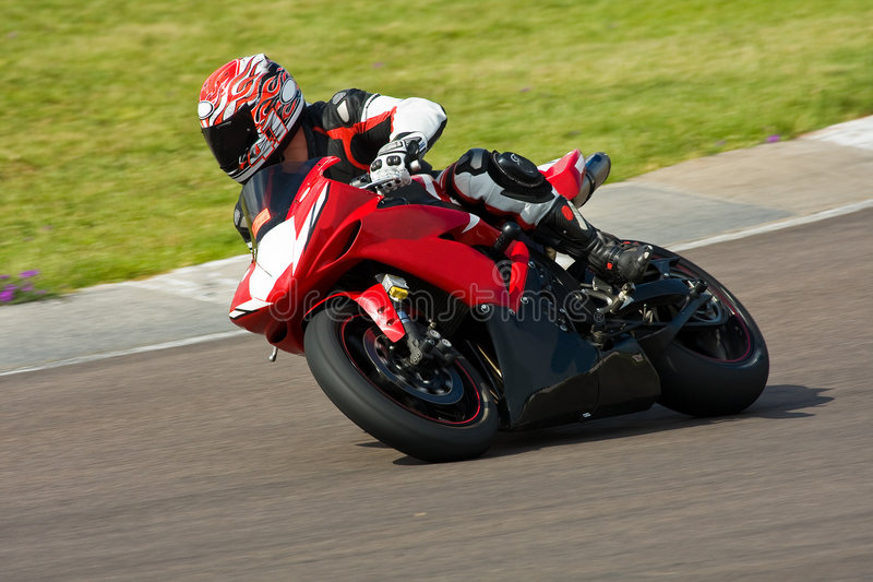 tävlings- motorbike royaltyfri fotografi