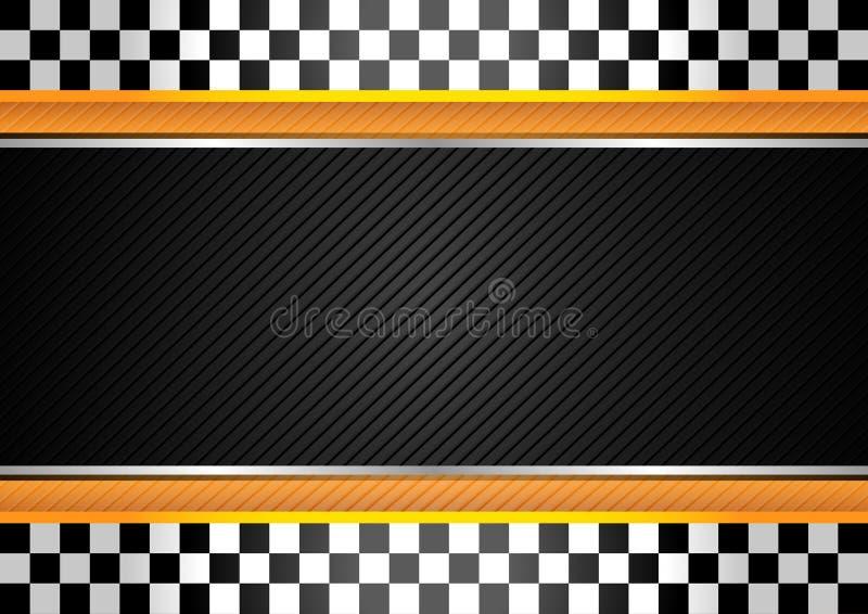tävlings- randigt för bakgrund vektor illustrationer